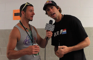 Ball Park Pranks at the Dew Tour - Pastrana and Sheckler
