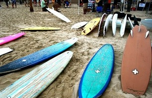 Surfboards at ISD 09