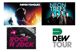 MTV2 Launches Rock N Jock Concert Series with Dew Tour