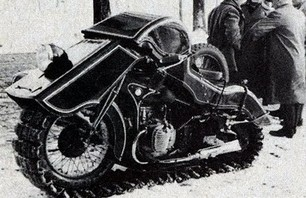 The Awesome History of the Snowterbike