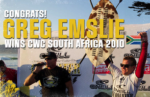 Greg Emslie Wins ASP Cold Water Classic: South Africa