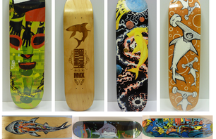 Shark Week Skateboard Decks