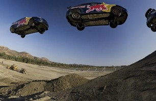 Pastrana\'s Red Bull No Limits Jump Practice Photo 0002
