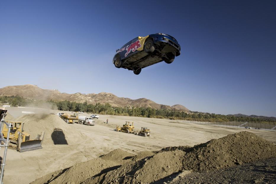 Pastrana\'s Red Bull No Limits Jump Practice