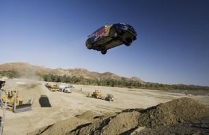 Pastrana\'s Red Bull No Limits Jump Practice Photo 0003