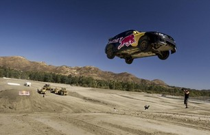 Pastrana\'s Red Bull No Limits Jump Practice Photo 0006