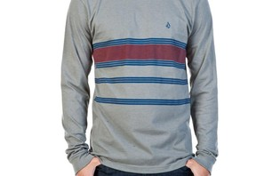 MEN\'S RINSED LONG SLEEVE T SHIRT ($27.00)
