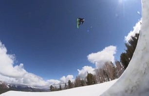 Tyler Flanagan and Brock Crouch at Mammoth Mountain
