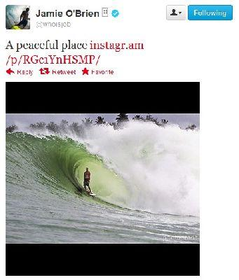 The Twitter Snap: The Latest and Most Interesting Tweets from Pro Surfers