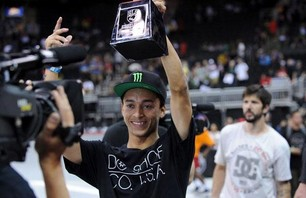 Nyjah Huston Wins Street League in Kansas City