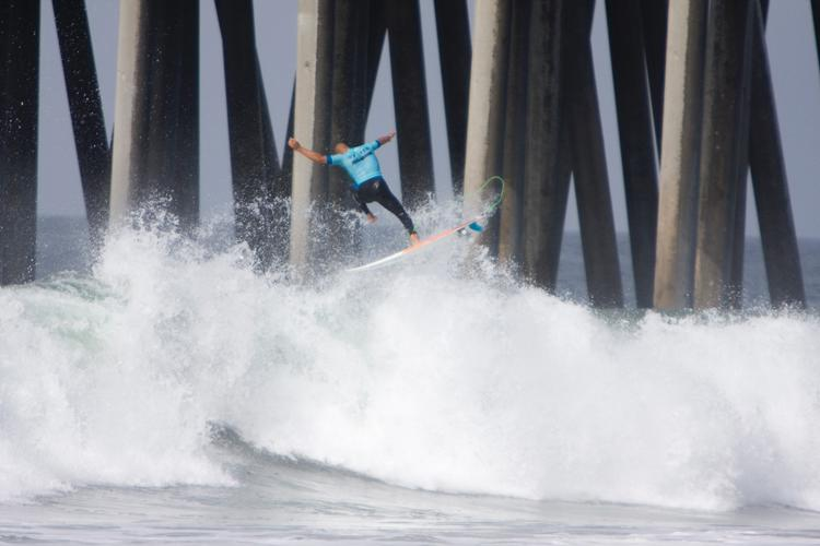 Kelly Slater And Dane Reynolds Lead Amazing Quarterfinal Matchups at Nike US Open of Surfing