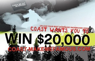 Coast-Make Me Famous: \'Lil Sponsorship Contest