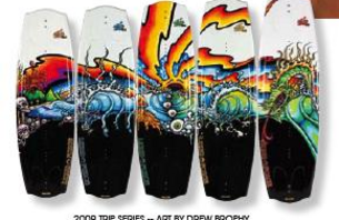 Liquid Force Debuts 2009 Trip Series