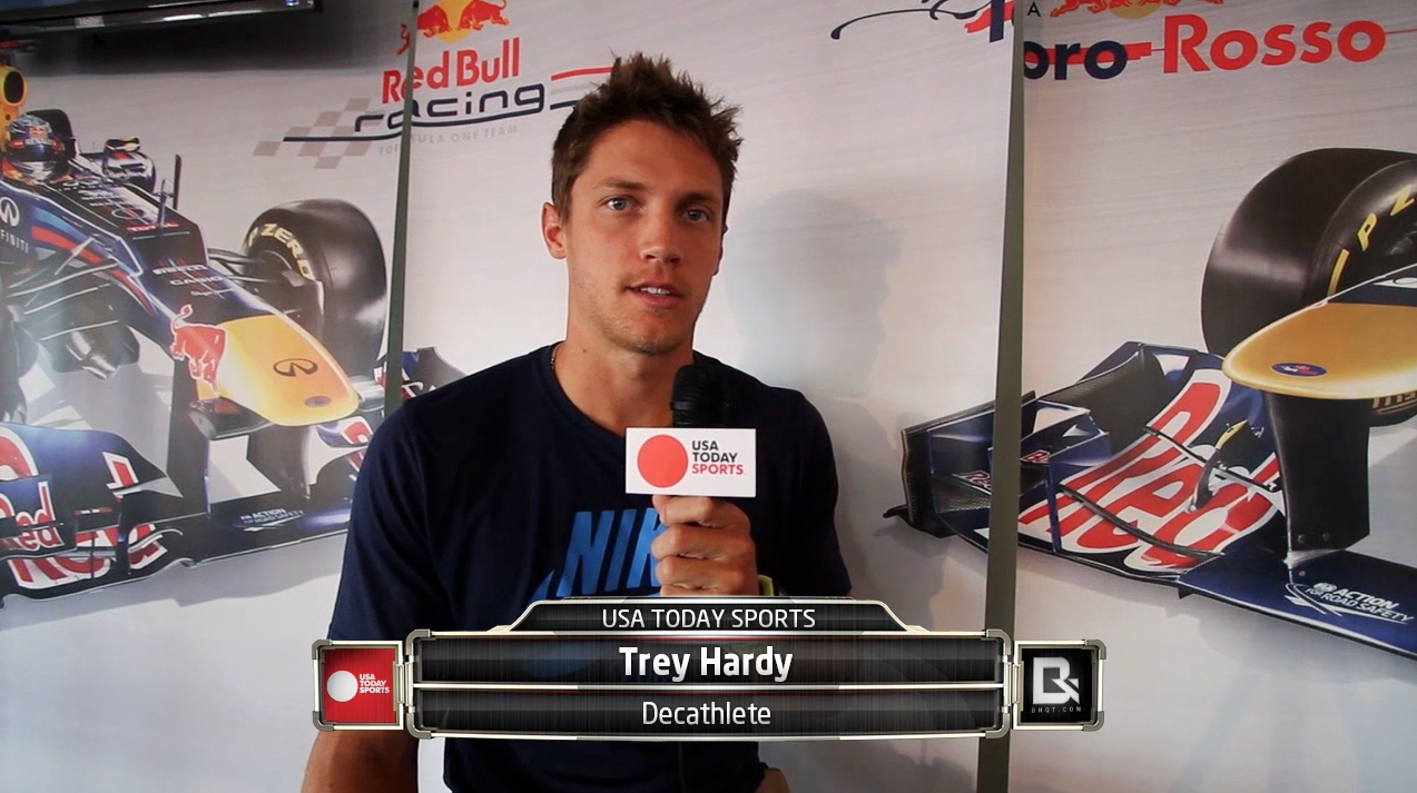 Decathlete And Olympian Trey Hardy Exclusive Interview