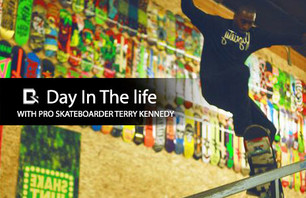 Day In The Life With Pro Skateboarder Terry Kennedy