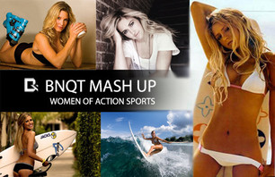 BNQT Mash Up - Sexy Women Of Action Sports