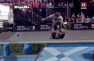 Game of SK8 Spells X Games Gold for Sandoval
