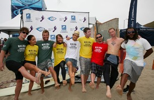 Celebrities Surf for a Good Cause