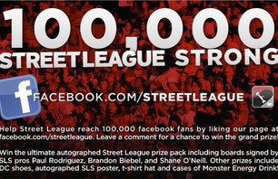Street League 100,000 Strong Facebook Contest