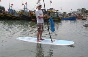 Paddling Against Plastic Pollution
