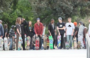 Emerica\'s NoHo Skate Demo