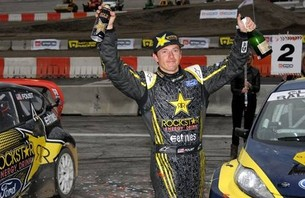 Tanner Foust Podiums at First-Ever Global Rallycross Championship