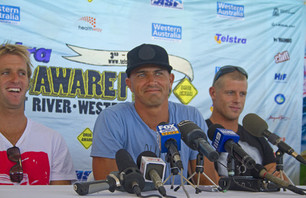 Kelly Slater Back at Drug Aware Pro