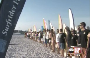 Surfrider Foundation Honors anniversary of BP Oil Spill