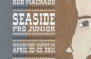 Rob Machado Seaside Pro Junior This Weekend