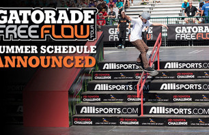 Gatorade Free Flow Tour 2011 Schedule