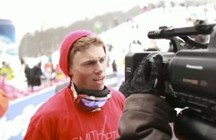 Gus Kenworthy at Telus Ski and Snowboard Festival