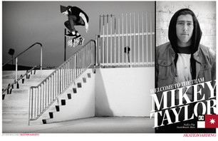 Mike Taylor Signs to DC Skate Team
