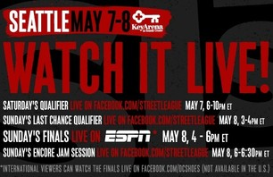 Street League Seattle This Weekend