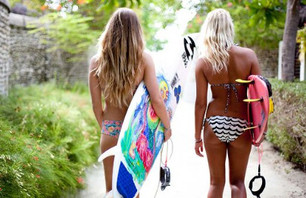 Surf Trip: Maldives with Billabong Girls