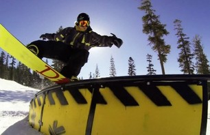 X Games Champs Horgmo and White Team Up in Tahoe