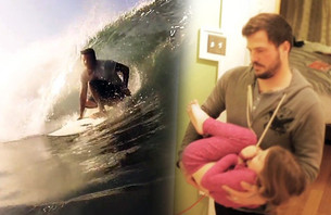Follow Story of a Surfing Dad and his Great Escape to Nicaragua