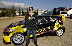 Watch Tanner Foust Rip Through the ERC Rallycross Championship Course