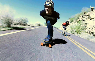Watch Arbor and SkatePHX Bomb Some Super Fun Hills in PHX