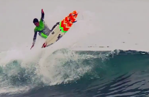 Brazilian Freesurfing Flair At It\'s Best