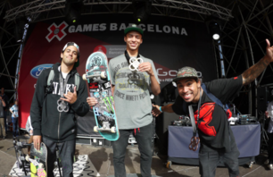 Nyjah Huston wins SLS gold at X Games Barcelona