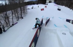 TTR Tricks - Jamie Anderson winning run at TTR Burton US Open 2012