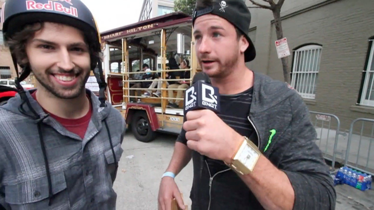 Big Daddy and Garrett Reynolds - BMX Streestyle Dew Tour SF
