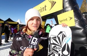 Elena Hight - 1st Place Superpipe Mammoth Grand Prix 2012