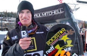 Chas Guldemond - 1st Place US Snowboarding Grand Prix - Mammoth 2012