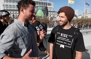 Big Daddy and Garrett Reynolds - San Fran Dew Tour 2012
