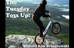 The Tuesday Toss Up: Clifford Kim Zvengrowski!