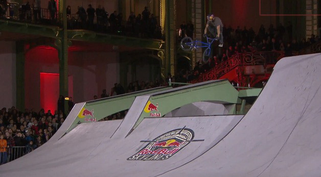BMX Contest at the Grand Palais - Red Bull Skylines 2012 Paris