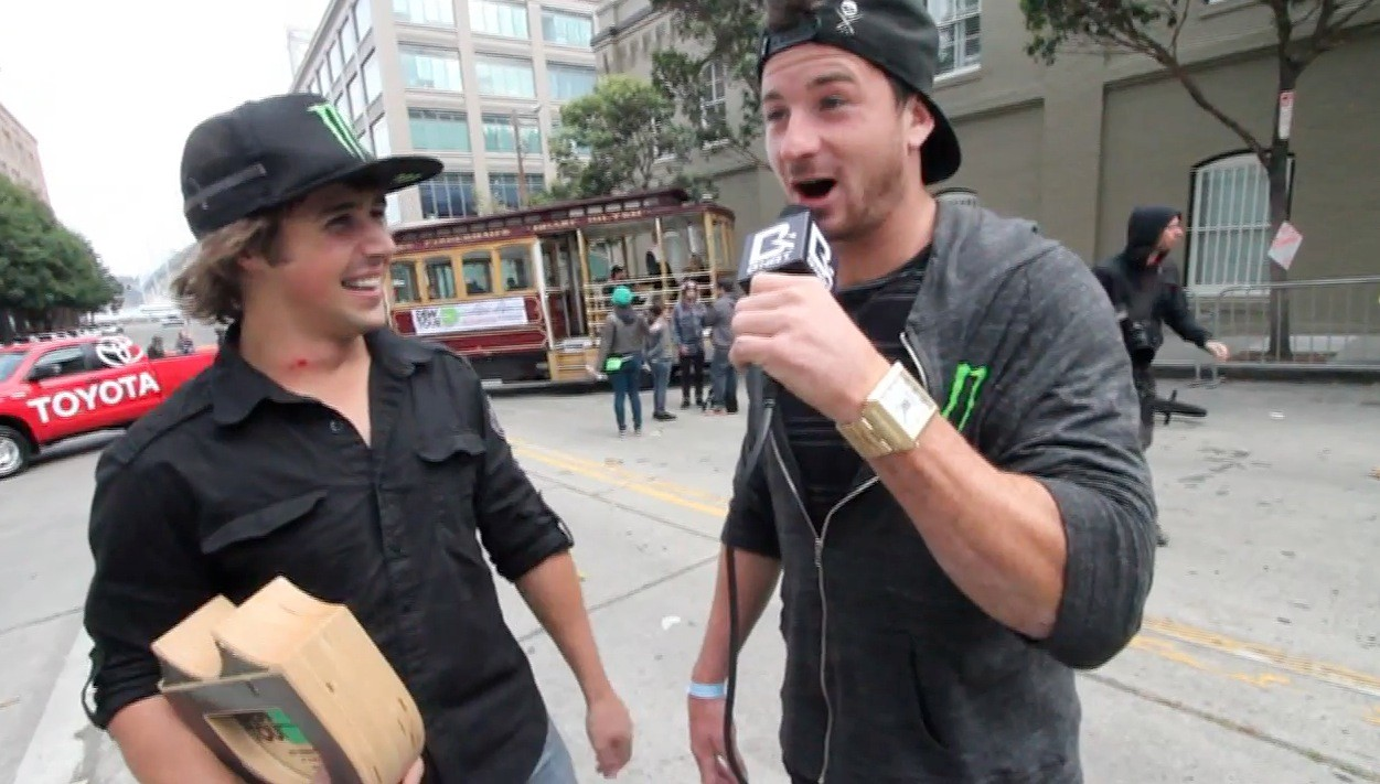 Big Daddy and Scotty Cranmer - Dew Tour BMX Streetstyle Finals
