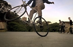 Slow Mo Fixed Gear that Makes You go Whoah
