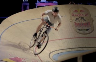Red Bull Mini Drome Fixie Race - Scotland 2011